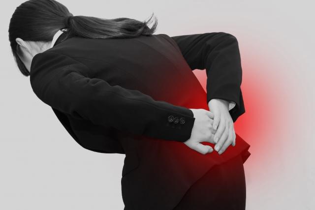 交通事故後の腰痛