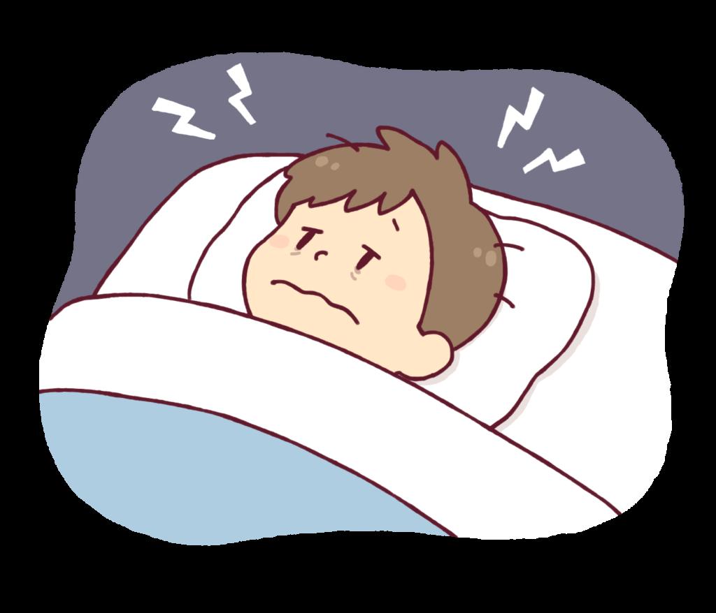 岡山交通事故後の不眠